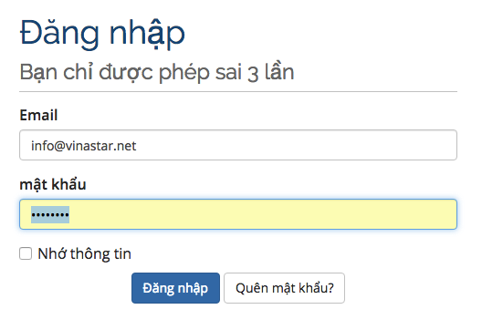 Hướng dẫn tạo email hosting