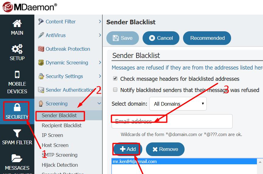 MDaemon Email Server for Windows
