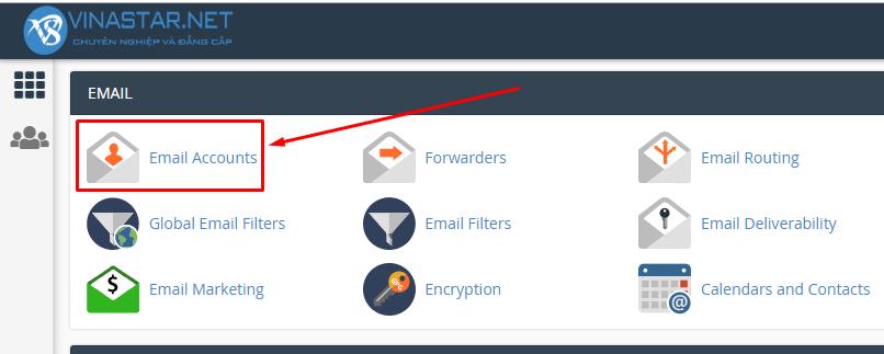 Hướng dẫn tạo mail trên Cpanel whm